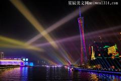 夜游广州塔