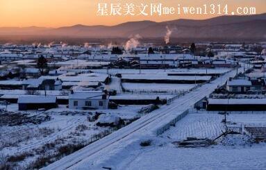 乡村的冬天