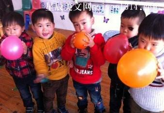 吹气球竞赛