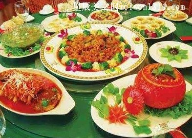 我的春节――餐桌上的文化