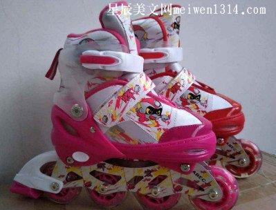 我最喜欢的玩具――轮滑鞋