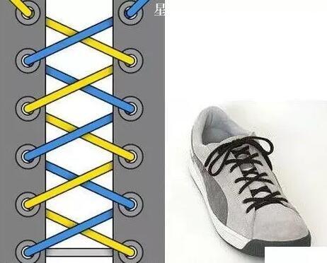 钙片  图解_24种鞋带的系法图解-常识大全-星辰美文网