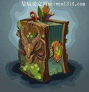 一本有魔法的书550字作文